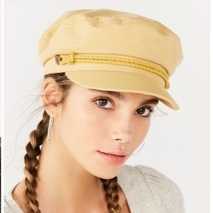 NWT Brixton Fiddler Yellow Fisherman Hat